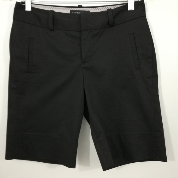Banana Republic Pants - Banana Republic Martin Fit Bermuda Shorts Size 2